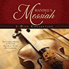 Handel's Messiah 3- Disc Collection/ EXCELLENT GIFT. ONE PER CUSTOMER.