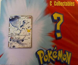 Pokemon Card Reshiram 113/114 Celebrations Secret Rare 25th Anniversary Holo