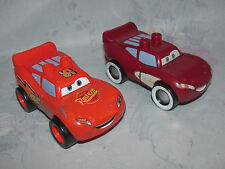 Mega Bloks Disney Cars Figure - Glow in the Dark Lightning McQueen Supercharged