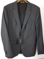 980da6847 Hugo Boss Genuine James Sharp Mens Suit Charcoal Top Jacket Size 40 R Z1