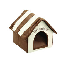 New listing Pet House Dog Cat Puppy Portable House Brick Warm and Cozy Pet Bed Sleeping Mat