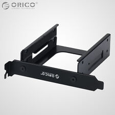 ORICO 2.5 Inch Dual Bay SSD HDD Hard Drive PCI Slot Caddy Frame Mounting Bracket