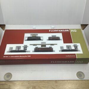 Fleischmann HO 481103 Starter Set Cog Railway Zahnradbahn-Bauzug der DRB Train