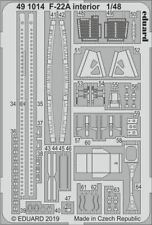 Eduard 1/48 Lockheed-Martin F-22A Raptor Interior # 491014