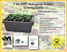 H2OtoGro DWC BUBBLER Hydroponic Grow system #4St - FREE US SHIPPING