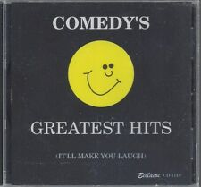 COMEDY'S GREATEST HITS GRANDMA'S LYE SOAP IT'S IN THE BOOK Who's On First NEW CD