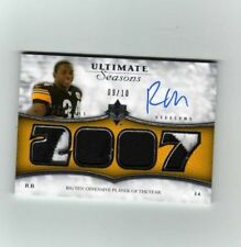 08 Ultimate Seasons Rashard Mendenhall Auto Patch 9/10!