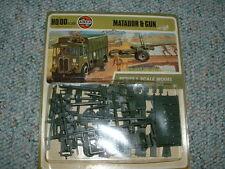Airfix 1/72 HO Matador and Gun - 1973 carded