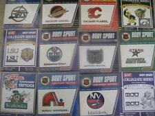 Sports Tattoos - 6 Packs Of Your Teams Shown On My Listing -Tcu,Jets,Lsu,Uoi,Etc