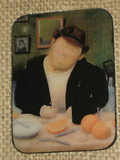 Refrigerator Magnet Fat/Heavy/Gordo Eating- Botero's Sealed Image Great Gift