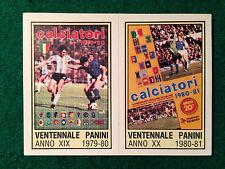 CALCIATORI 1980-81 80-1981 n 10 ALBUM 1979-80 1980-81 , Figurina Panini - New