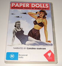 DVD - PAPER DOLLS - AUSTRALIAN PINUPS OF WORLD WAR 2 - SBS