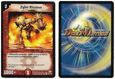 DUEL MASTERS ZYLER RISSOSO 70/110 COMUNE THE REAL_DEAL SHOP