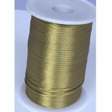 Olives 2mm Rattail Satin Cord Macrame Beading Nylon kumihimo String DIY 10yds