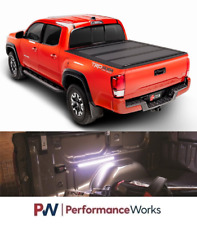 BAK For 16-18 Toyota Tacoma 5ft MX4 Truck Tonneau Cover w/ 448426 + MotionLED