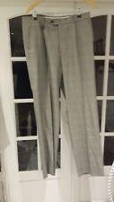 "1 STROMBERG Men Golf Trousers Teflon Coated Grey Check Size 34L/33"""