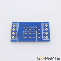 Double Sides FR4 PCB Board For ALPS RK27 RK16 Volume Potentiometer 44x25mm 1PC