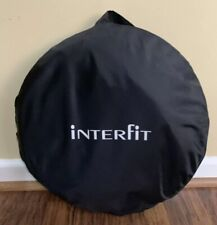 """Interfit 42"""" Circular Collapsible Reflector (Silver & White) With Case"""