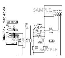 MARSHALL DBS 7400 400w Amplifier Schematic Diagram PDF