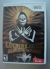 AAA LUCHA LIBRE HEROES DEL RING NINTENDO Wii Mexico good condition LA PARKA AAA