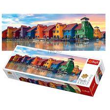 Trefl 1000 piezas panorama Adulto Groningen ciudad Holanda Rompecabezas piso Grande