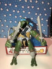 """TMNT,Playmates Robo Hunter """"Leonardo"""" Figure 2005 Teenage Mutant Ninja Turtles"""