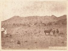 Original Photo Jave Indonesia 1901 Mountains in Soerabaia By Kurkdjian