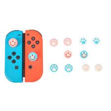 For Nintendo Switch/Lite Joy Con Thumb Grips Rocker Cap Rabbit Cat Paw Luminous