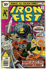 Iron Fist #5 (1977, fn-vf 7.0) John Byrne art. Guides at $14.00 (£9.50)