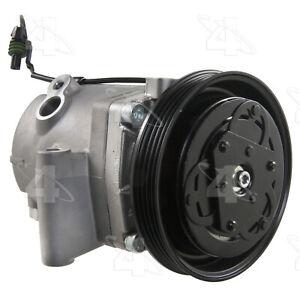 A/C Compressor-New Compressor 4 Seasons 68401 fits 08-15 Smart Fortwo 1.0L-L3