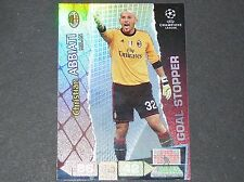 ABBIATI ROSSONERI MILAN AC UEFA PANINI CARD FOOTBALL CHAMPIONS LEAGUE 2011 2012