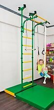 Comet-5 - Children's Home Gym Swedish wall with Accessories