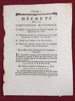 Ville d'Orleans 1793 Hôtel des Invalides Convention Nationale Révolution Gap