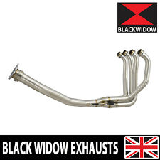 ZX7R ZX7 R RACE EXHAUST DOWN FRONT PIPES HEADERS MANIFOLD BLACK WIDOW