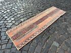Runner Rug, Hallway rug, Wool rug, Handmade rug, Home decor | 1,9 x 6,2 ft