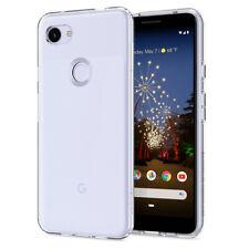 Google Pixel 3a XL Case | Spigen® [Liquid Crystal] Crystal Clear Shockproof