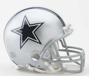 Dallas Cowboys NFL Mini Helmet Riddell NIB New in Box Football Boys