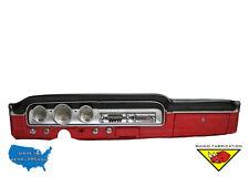 Black Dash Pad 1962 1963 1964 1965 fits Ford Fairlane, 62 63 Mercury Meteor