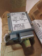 Square-D 9012 GAW-5 Machine Tool Pressure Switch 600v