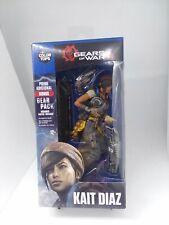 New: Gears Of War 4 KAIT DIAZ Action Figure w/ Bonus Gear Pack