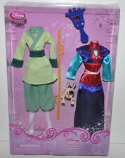 Disney Store Classic Doll Collection Mulan Princess Wardrobe Clothes Mini Figure