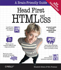 Head First HTML and CSS 2nd Edition by Elisabeth Robson & Eric Freeman