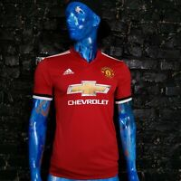 Manchester United Jersey Home football shirt 2017-2018 Adidas BS1214 Mens Size S