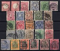P135651/ GERMANY – YEARS 1872 - 1900 USED CLASSIC LOT – CV 138 $