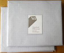 V&A Standard Pillowcase PAIR New KAZARI GILVER