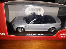 Maxi Car 1/43 BMW M3 Cabrio silver