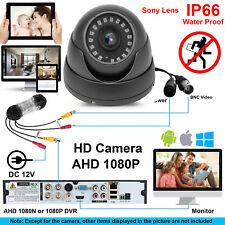 FULL HD 1080P INDOOR DOME CCTV CAMERA 2.4MP AHD Security NIGHT VISION WaterProof