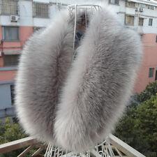 Damen Kunst Pelzkragen Kragen Pelzkragen Kunstpelz Faux Fur Fell Kapuzenkragen
