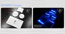 (Fits: Hyundai 2016+ Tucson) LED Wireless Battery Charger Plate Cup Holder