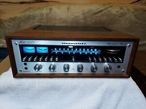 A nice Marantz 2275 in wooden case.